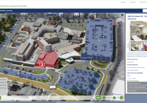 Frederick Memorial Hospital Interactive Map